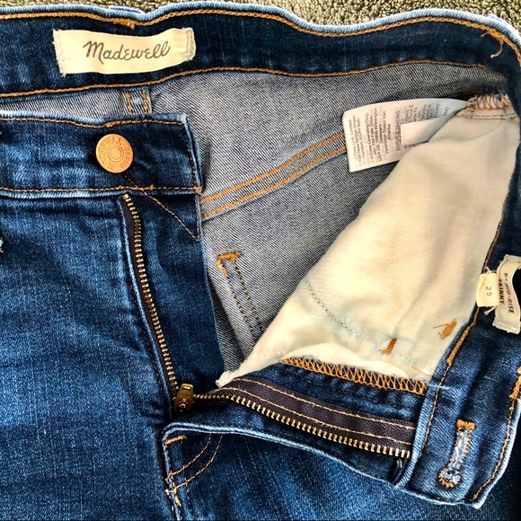 Madewell Denim Jeans - Skinny 9 in. mid rise jeans